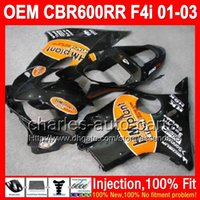 abs plant - OEM HM Plant For HONDA Injection CBR600F4i L7213 CBR600 F4i FS CBR F4i F4i NEW Orange black Fairing