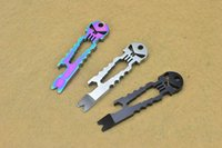 Wholesale Portable pocket tool including wrench crowbars bottle opener Flathead screwdriver Outdoor camping survival necessities