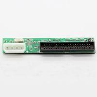 Versión estrecha 39P IDE PATA de datos + 4P Molex de alimentación a 7 + Tarjeta SATA 15P adaptador convertidor para 3.5 HDD DVD JM20330 chipset interior