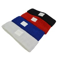 Wholesale 2PCS New Sports Cloth Terry Running Headband Head Mixed Color Sweatband
