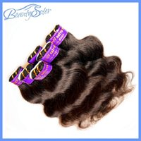 health and beauty products - Beauty and Health Hair Products Peruvian Human Hair Body Wave Packs For One Head Peruvian Virgin Hair A Grade Good Quality Color1B