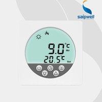 Wholesale 2015 New VAC Weekly Programmable Green LCD Display Warm Floor Heating