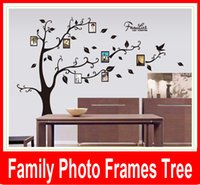 adhesive picture frames - Family Picture Photo Frame Tree Wall Quote Art Stickers Vinyl Decals Home Decor