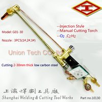 acetylene prices - factory price sale G01 Injection style Flame cutting torch manual cutting gun oxygen acetylene gas torch cutting mm thickness