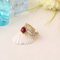 Cheap Fashion CZ Ring Female Models Color Optional for Women Made of Copper for Women 2015 Fashion