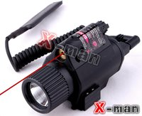 laser sight - 2015 New M6 Lumen Tactical Laser Flashlight Combo mw Red Laser Rifle Sight