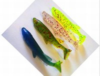 Wholesale HOT CM g in oz Soft Bait Artificial Fishing Lure Sea Bionic color Fatal Attraction High quality