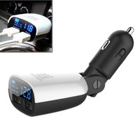 inverter battery - High Quality LED Display Dual USB Car Charger Adapter Mini V A Voltage Monitor Inverter v v Car Battery Charger