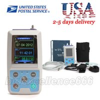Wholesale CE hours Ambulatory Blood Pressure Monitor Holter ABPM50 Cuffs CONTEC USA