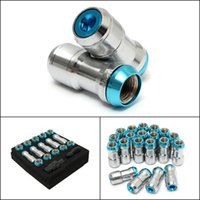 best dust caps - High Quality Sky Blue Universal mm Wheel Extended Dust Cap Lug Nuts M12x1 M12x1 Best Hot Promotion