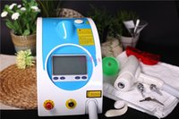 Wholesale FAST shipping Q SWITCH YAG LASER Eyebrow Birthmark Removal skin care beauty machine