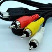 Wholesale Authentic camera video cable AV cable AVC DC400