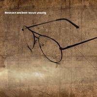 Wholesale Eyeglasses Frame Gafas Unisex Alloy Freeshipping Adult Real Sol Masculino New Retroglasses Goggles Lenses Glasses