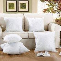 Wholesale 50 cm Nonwoven Fabrics Throw Pillow Inner Cushion Core Insert Pillow Core Filler Sofa Decorative Square Decor Home Soft