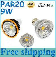 24v e27 led - CE ROHS FCC CUL PAR20 Led Bulbs Light x9W COB E27 E26 GU10 Dimmable Led Spotlights Lamp Angle Cool Warm White V Brand New