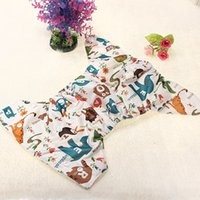 Wholesale Hot sale Baby Cartoon Nappy Adjustable Printed Diapers Covers Liner Insert order lt no track