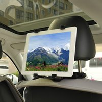 Wholesale Brand New Universal Car Vehicle Seat Back Headrest Mount stand Holder For Apple iPad Tablets PC Tablet PC Stands IT12 Z25