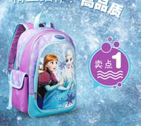 children school bag - 2015 Frozen Cartoon Series Children School Bag Big Room Little Kids School Bags Low Price