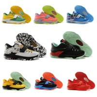 Wholesale 2015 New Basketball Shoes KD Generation Men s Sport Shoes Fashion Low Cut Breathable Athletic Shoes Sneakers Size