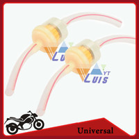 fuel filter for motorcycle - Universal Motorcycle Clear Inline Fuel Gas Gasoline Filter with Hoses for Dirt Bike Go Karts Scooter Motorized Bicycle Pit bike order lt no