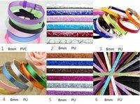 children charm bracelet - 8mm glitter strap bracelet wristband bracelet DIY mm slide charms kids bracelets children jewelry ID bracelets design