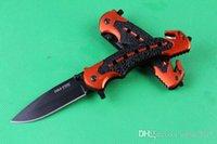 knifes - cold steel rescue knife survival knives CR17 HRC EDC Pocket Knife hunting knife camping knife gift