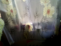 adhesive window shades - Color thickening frosted White Flowers glass film window stickers bask bathroom toilet door window opaque shade