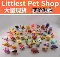 Wholesale DHL Free original Hasbro Littlest pet shop of different models mixed Figures bigger size cm