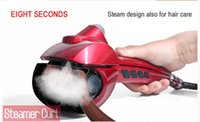 iron steam iron - V V Bivolt New Steam Hair Styling Tools Magic Curling Iron Automatic Hair Curler