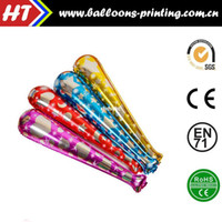 baseball balloons - 50pcs alumnum balloons Festival party supplies Magic price Birthday party activities toy balloons aluminum baseball bat four ribbons bell c