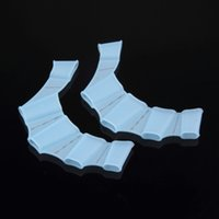 Wholesale New Swim Gear Fins Hand Webbed Flippers Silicone Training Paddle Dive Glove Freeshipping