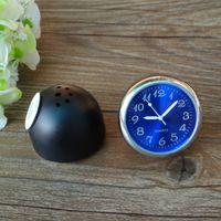 automobile clock - Mini automobile clock relogio quartz car clock hygrometer and thermometer clock quartz clock for car