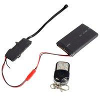 Wholesale HD P DIY Module SPY Hidden Camera Video MINI DV DVR w Remote Control