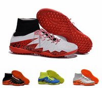 Wholesale 2015 Men s Hypervenom Phantom II TF Boots Indoor outdoor Soccer Boots Cleats Laser Soccer Shoes
