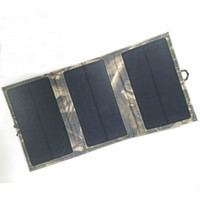 Wholesale Solar charger folding package W V mobile phone charger Outdoor charger Emergency supply