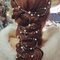 Wholesale New Fashion Cheap Wedding Bridal Accessories Beading Pearls Popular Bridal Hairs KT4465