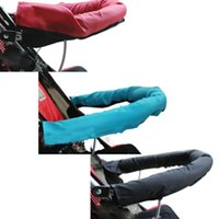 Wholesale Creative Hot Sales Baby Car Velcro Unpick And Wash Baby Stroller D Oxford Fabric Armrest Set large Rotary Gloves