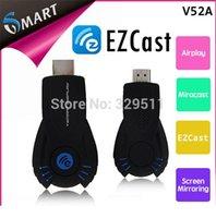 Cheap Hotsale !Free Shipping VSMART V5ii EZCast miracast Chromecast Ipush Tv Projector Share EZCast Support Windows Mac OS iOS Android 052929