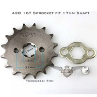 Wholesale Brand New Motorcycle ATV Dirtbike Front Sprocket T mm Size Teeth with cheap price