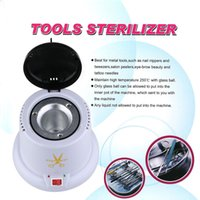 autoclave manicure - Manicure Sterilizer Machine with g Disinfection Glass Bead Nail Tools V EU Plug Nail Art Steam Autoclave Scissor