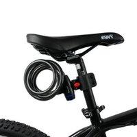 Wholesale Tonyon Mountain Bicycle Lock Seat Post Saddle Lock mm Bicycle key Disc Lock Bike Cycling Bicycle Lock