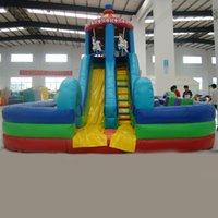 playground equipment - AOQI indoor playground equipment inflatable water park big inflatable water slide used playground slide for sale