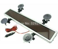 Wholesale Yellow LED Scrolling Display Panel Board Programmable support Multi language V car advertising sign with suckers