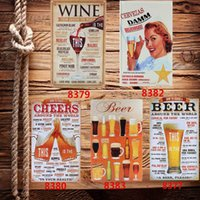 Cheap Cool Beer Painting Metal Art Decorative Poster Retro Hot Special Bar Pub Home Item Tin Sign Wall Decor
