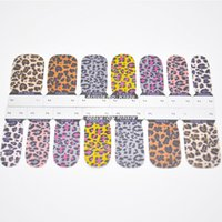 Wholesale 10 Styles Nail Art Decal Stickers Beauty Nails Care Makeup Tips Decals Decoration Nail Tool Accessories