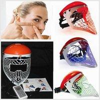 Wholesale LED facail mask LED red blue green light therapy beauty Mask PDT Mask LED skin rejuvenation skin Mask