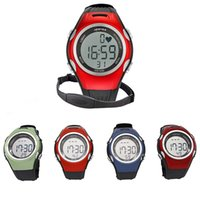 heart rate monitor watch - Spovan SPV906 ATM Waterproof Outdoor Sports Watch Wireless Pulse Heart Rate Monitor with Chest Strap Fitness Exercise Running Y0180