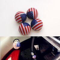 american ball valves - GPS x American Flag Ball Wheel Tire Valve Stem Air Dust Car SUV Pickup Caps Cover