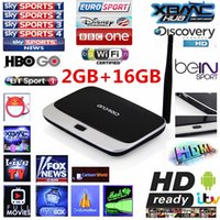 Wholesale Arabic IPTV Box GB GB Live Streaming Channel CS918 Q7 Quad CoreAndroid TV Box RK3188 Smart TV Box HD1080P Free watching
