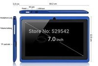 Wholesale Good Quality inch Q88 dual Camera tablet pc android Capacitive Screen M GB WIFI allwinner a13 touch pen